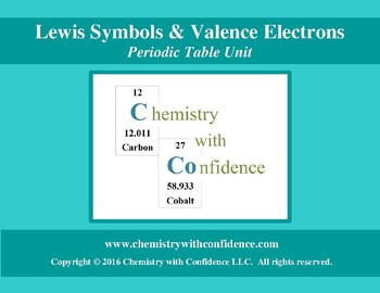 Lewis Symbols & Valence Electrons