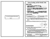 Valence Electrons, Periodic Table, and Bonding Notes for Interactive Notebook
