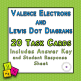 Valence Electrons and Lewis Dot Diagrams 20 TASK CARDS wit