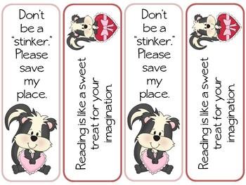 Valentine Bookmark Sampler