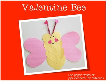 Valeninte's Day Crafts: Heart Shaped Animals