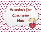 Valenitne's Day - Compliment Mats - Compliments from My Friends