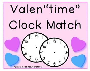 """Valen""""time"""" Clock Match ~ Hour and Half Hour"""