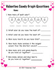 Valentine Candy Heart Graph with Questions