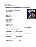 Valentin Movie- Vocabulary