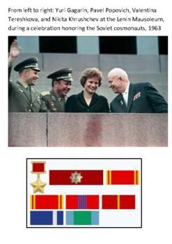 Valentina Vladimirovna Tereshkova Handout