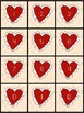 Valentine 100s Chart Pick a Number and Color