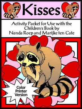 Valentine's Day Reading Activities: Kisses Valentine's Day Activity Packet