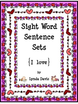 Valentine - Sight Word Sentence Sets #1