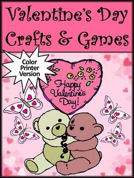 Valentine's Day Craft Activities: Valentine's Day Crafts &