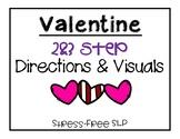 Valentine 2&3 Step Directions