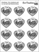 Valentine's Day Game Activities: Bee Fractions Valentine's Day Math Activity