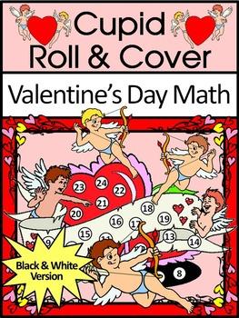 Valentine's Day Game Activities: Cupid Valentine's Day Rol