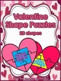 Valentine 2D Shape Puzzles