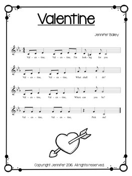 Valentine: A Play Party Song for Young Children