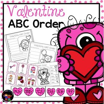 Valentine ABC Order