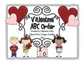 Valentine ABC Order Activity