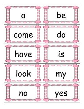 Valentine ABC Order Cards