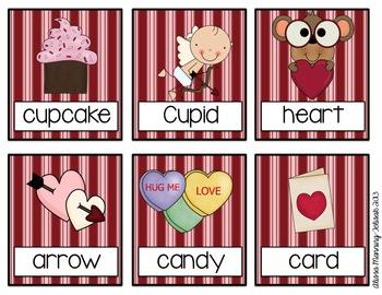 Valentine ABC Order {Literacy Center}
