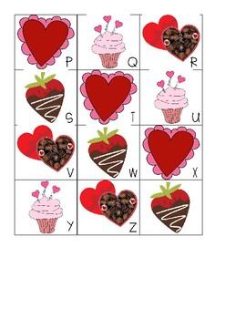 Valentine ABC Sort