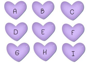 Valentine ABC's