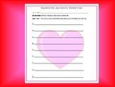 Valentine Acrostic Poem Fun