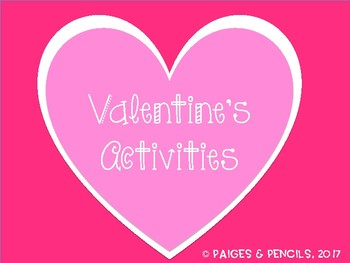 Valentine Activities