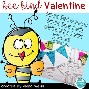 Valentine Activities: BEE KIND VALENTINE