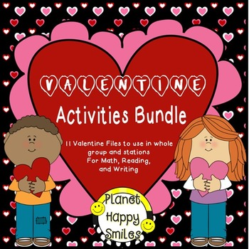 Valentine Activities Bundle #love2savesale