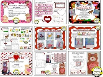 Valentine Activities Bundle #resourceswelove