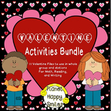 Valentine Activities Bundle #resourceswelove