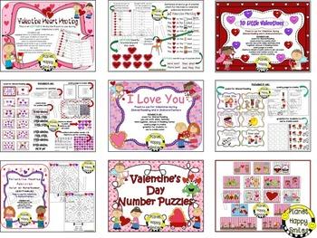 Valentine Activities Bundle