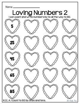 Valentine Activities Bundle - Math and Literacy - No Prep - Just Print