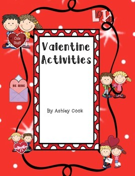 Valentine Activities For 2nd and 3rd Grade