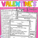 Valentine Activities Prefix Practice
