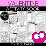 Valentine Activity Book and Coloring Pages {Made by Creati