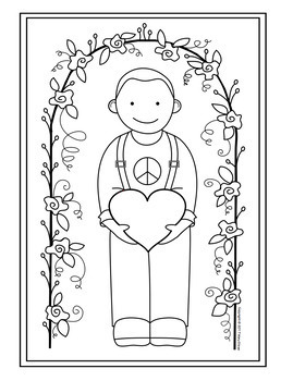 Valentine Activity Coloring Pages