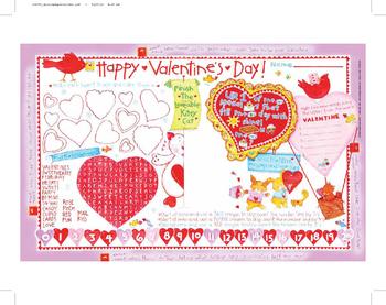 Valentine Activity Mats