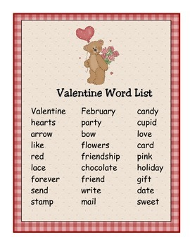 Valentine Activity Packet