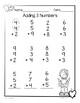 Valentine Adding 3 Numbers