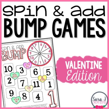 Valentine Addition Games