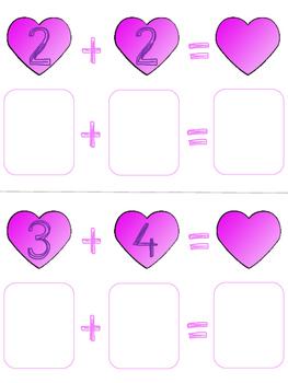 Valentine Addition Center (up to 10)