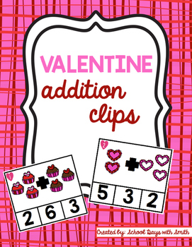 Valentine Addition Clips