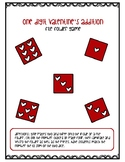 Valentine Addition File Folder: Two Addends
