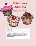 Valentine Addition Fives