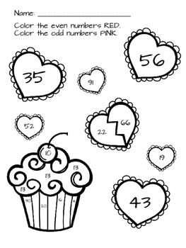 Valentine Math Freebie