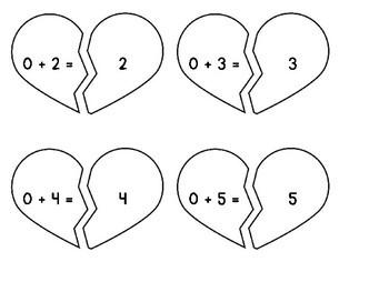 Valentine Addition Game