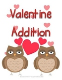 Valentine Addition Mats - Decomposing Numbers