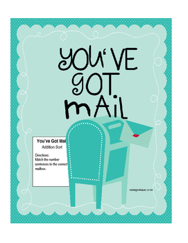 Valentine Addition Sort-You'veGotMail