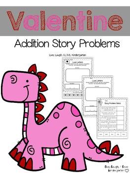 Valentine Addition Story Problems